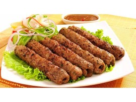 Lamb/Chicken Seekh Kabab